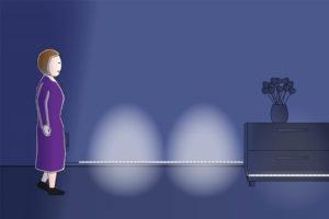 Les dispositifs d'éclairage à détection de mouvement pour les personnes âgées